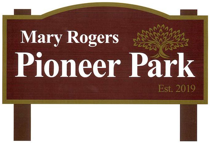 Mary Rogers Sign